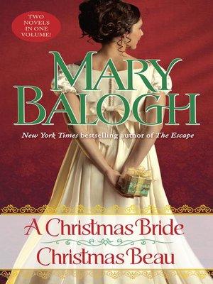Cover image for A Christmas Bride / A Christmas Beau.
