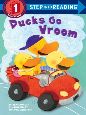 Cover image for Ducks Go Vroom.