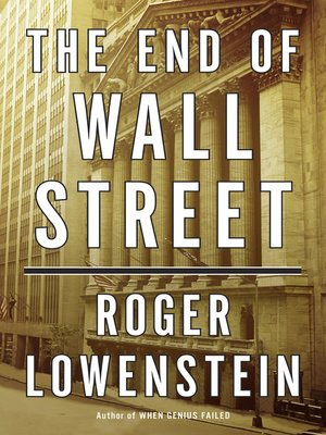 Cover image for The End of Wall Street.