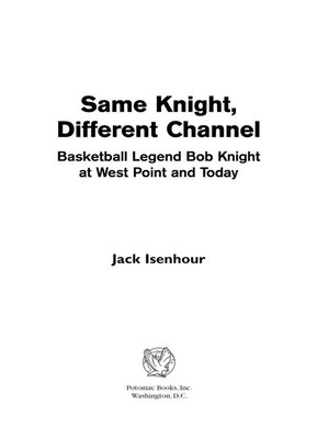 Cover image for Same Knight, Different Channel.