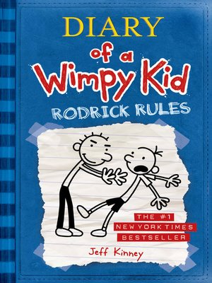 Cover image for Rodrick Rules.